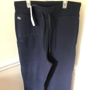 Men's Lacoste Sweatpants size 6 new with tags